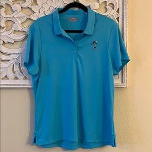 3/$20 Callaway Disney Minnie Mouse Blue Golf Polo